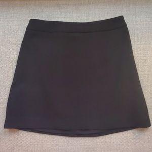 Express A Line Black Lined Skirt 4